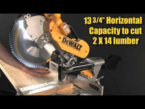 Dewalt Dws780 12 Quot Miter Saw Has The Largest Total Capacity