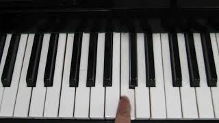 Одинокий Пастух на Пианино - Как Играть Новичку