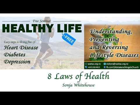 8 Laws of Health | Sonja Whitehouse