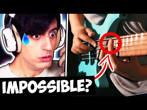 This GUITARIST Played The HARDEST Bass Solo EVER??