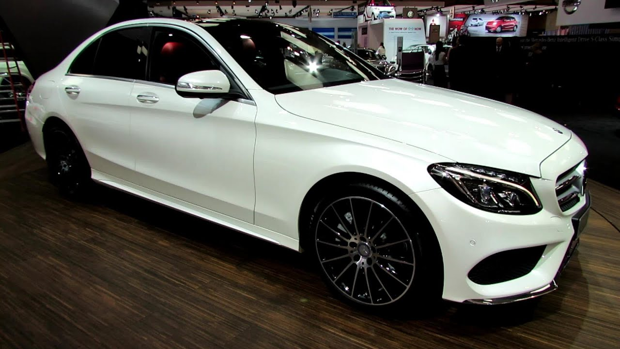 2015 mercedes benz c class c400 4matic exterior interior walkaround 2014 toronto auto show youtube