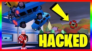 THIS HACKER HACKED JAILBREAK and DELETED IT!? *M07T3M* (Roblox Jailbreak)