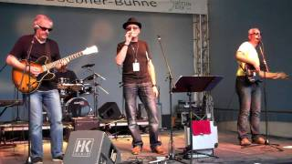 Unknown Blues Band beim Folk Festival in Witten 2011