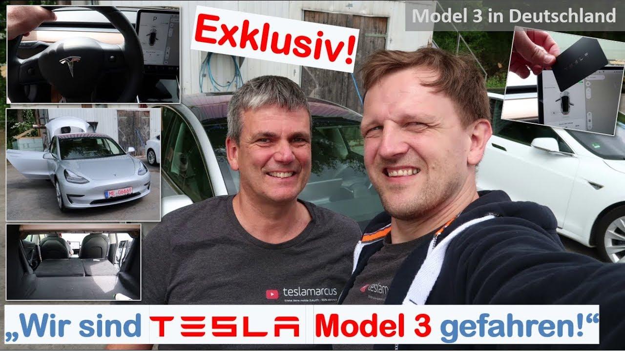 Download Tesla Model 3 in Deutschland   Exclusivbericht von Gabor   Wir sind Model 3 gefahren!