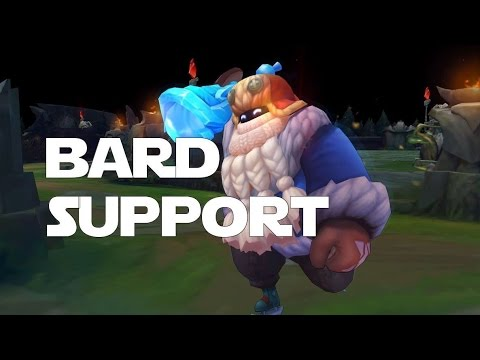 AGGRO BARD IS THE ONLY WAY! - League of Legends -  Bard Support