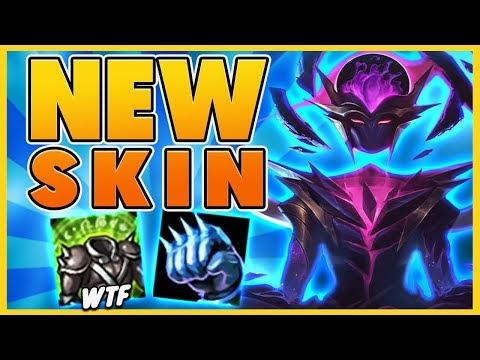 *NEW SKIN* DRUNK LEAGUE OF LEGENDS?? (UNKILLABLE) - BunnyFuFuu