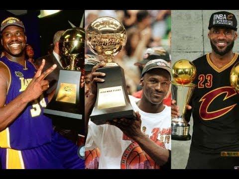NBA Finals MVP (1969 - 2019)