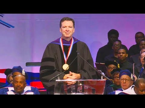"""You're Not Our Homey"" Students Shout Down James Comey"