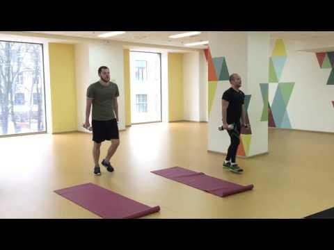Функциональный тренинг: slide, BOSU фитнес, оздоровительно