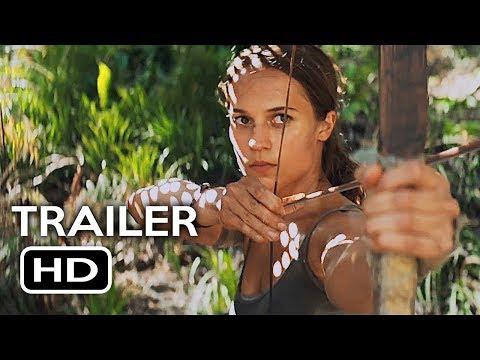 Download Youtube: Tomb Raider Official Trailer #1 (2018) Alicia Vikander, Walton Goggins Action Movie HD