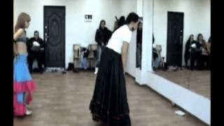 Оксана Трофименко  - лексика цыганского танца 21.10.2012