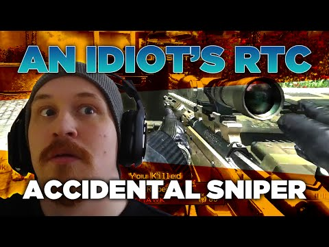 An Idiot Does A Call Of Duty RTC - Accidental Sniper - Episode 1