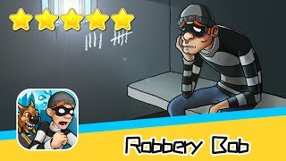 Robbery Bob™ High Rise Level 6-8 Walkthrough New Game Plus Recommend index five stars