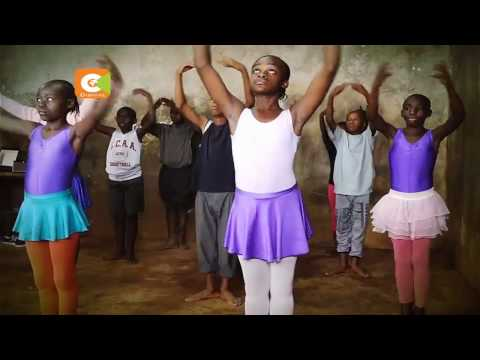 Kibera slums children keen on ballet dance #KiberaBallerinas
