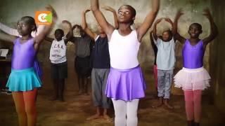 Kibera slums children keen on ballet dance #KiberaBallerinas