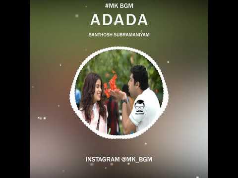 Santhosh Subramaniam Bgm | Love