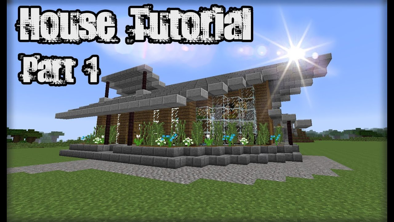 Minecraft House Tutorial   Minecraft Wooden Plank House #2   Part 1    YouTube