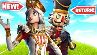 NEW CRACKABELLA & CRACKSHOT Skins in Fortnite..