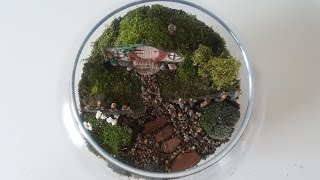 hobbithouse #miniaturegarden #hobbitterrarium Hi! I'm making hobbit...
