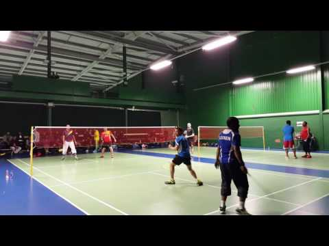 UNITED BADMINTON CLUB BADMINTON TOURNAMENT, NEWCASTLE 2016 FINAL MATCH VIDEO (CATEGORY: C)