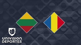 Lituania 1-2 Rumania - GOLES Y RESUMEN – Grupo 4 UEFA Nations League
