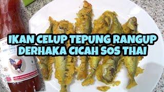 Kali ni share resepi ikan celup tepung viral terengganu. Tak perlu pergi Terengganu semata mata nak makan ICT. Kita goreng di rumah sahaja.