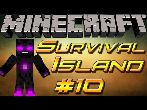 lets play minecraft - Survival island - part 10 - attack of the zombies round 3