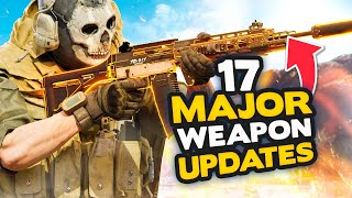 Warzone Season 4: All 17 Major Weapon Changes + More | Grau + Mp5 Nerf!