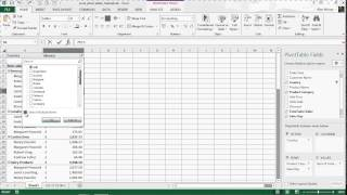 Introduction to Pivot Tables - Excel Pivot Tables Tutorial