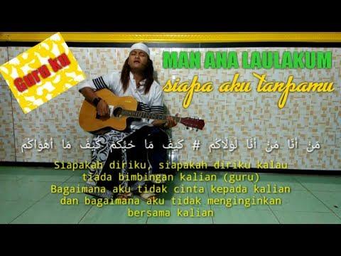 MAN ANA | Cover Guitar KiAgeng Al-Huda.sedih Kawan😢