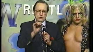 Continental Wrestling 3/29/86 Wendell Cooley vs. Adrian Street