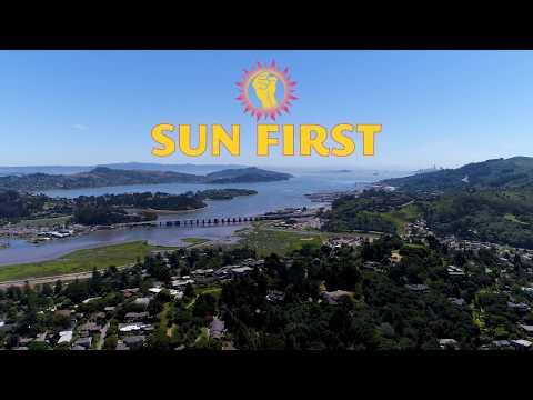 Sun First Solar Flyover