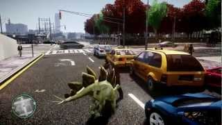 GTA 4 Dinosaur/Dragon