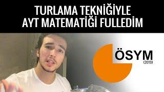 TÜRKİYE 457.Sİ AYT MATEMATİĞİ NASIL FULLEDİ?/öğrenciningözünden7YKS/Ayt