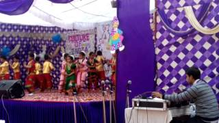 NGF Tiny tot Rewa dance video at school function 4(1)