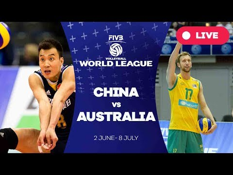 China v Australia - Group 2: 2017 FIVB Volleyball World League
