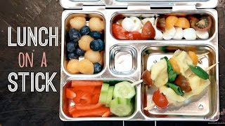 School Lunch Ideas: Lunch On A Stick! | One Hungry Mama