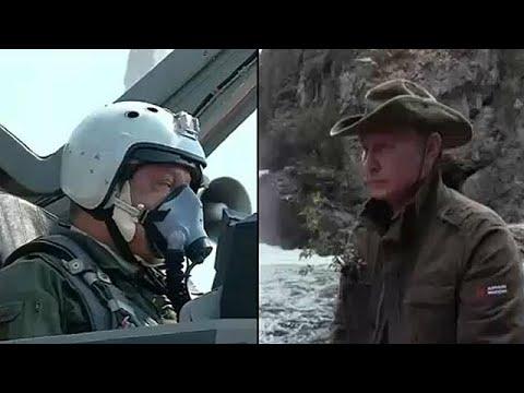 Putin y Poroshenko exhiben sus destrezas en vacaciones