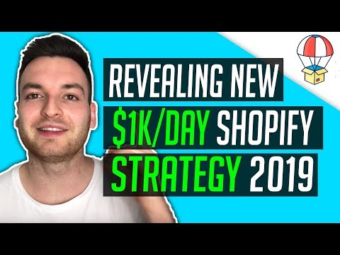 The ONLY Shopify Strategy To Use In 2019 - Shopify Dropshipping thumbnail