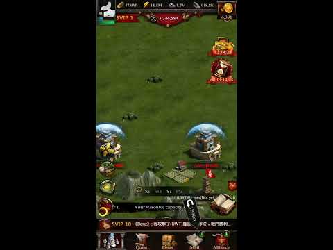 Clash of Kings - Unstoppable Guard of Kingdom 267 (Kingdom Conquest VS 270) Skill hits