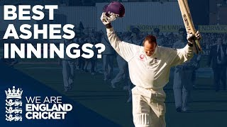 Mark Butcher or Ben Stokes? | Best Ashes Innings | The Ashes 2001