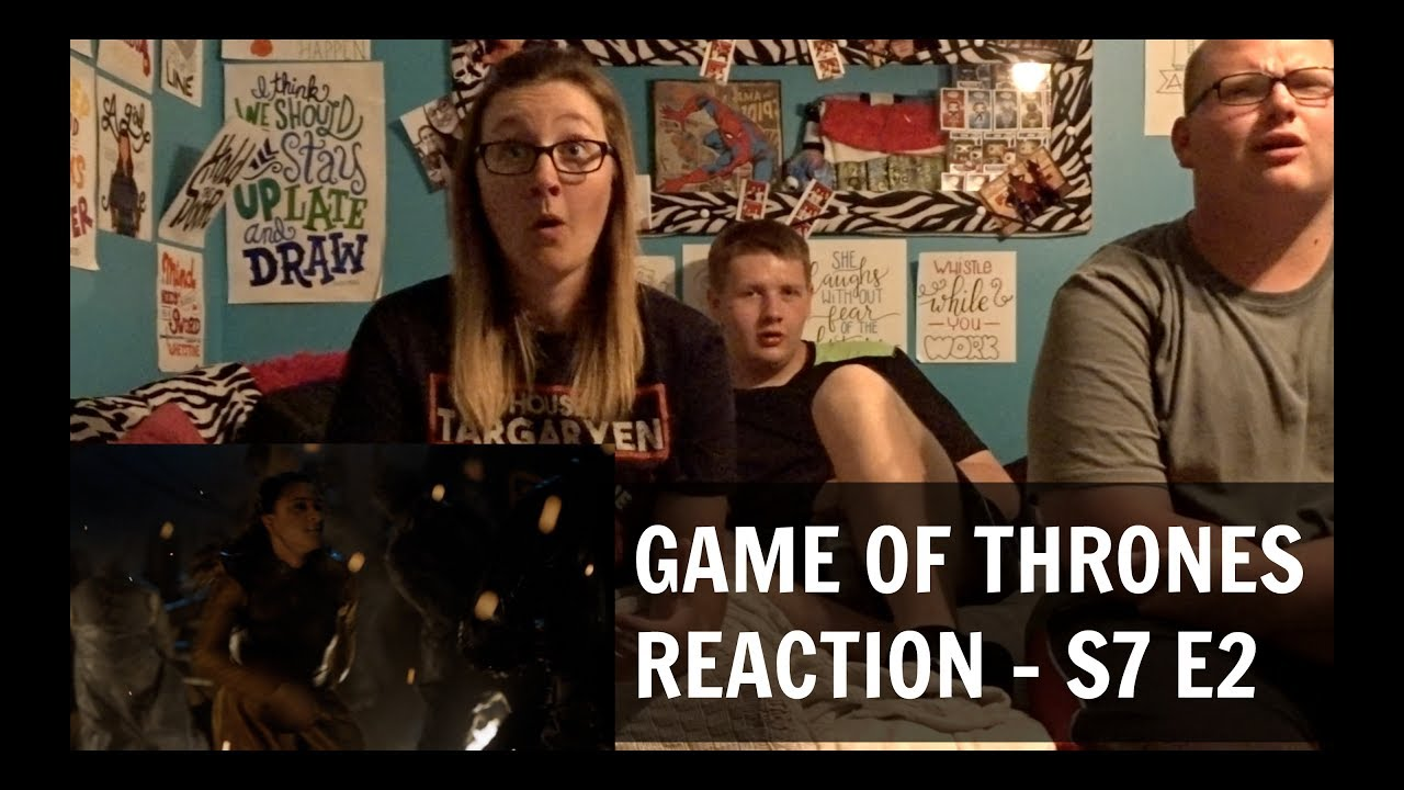game of thrones reaction s7 e2 youtube. Black Bedroom Furniture Sets. Home Design Ideas