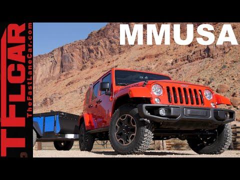 Epic TFL Jeep Wrangler 50 State Road Trip Preview: Motor Mountain USA Monday