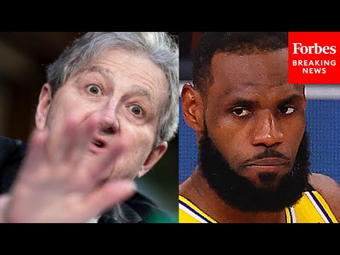 "Viral Senate Moment: John Kennedy Asks If LeBron James Tweet ""Contributes To Domestic Violence&"
