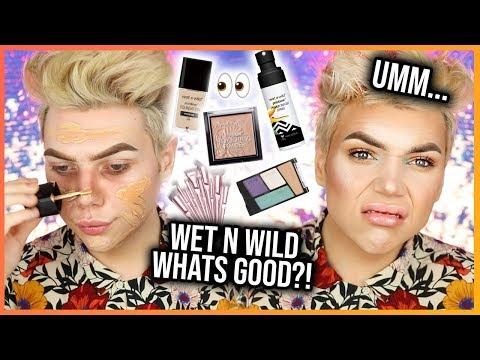 WET N' WILD WHAT'S GOOD SIS?! Testing *NEW* Wet n Wild Makeup! | Thomas Halbert