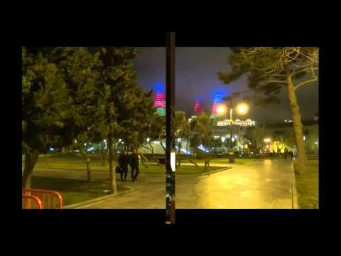 Baku by night.