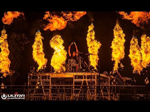Matt McGuire Drum Solo (Live) - The Chainsmokers at Ultra Music Festival 2018