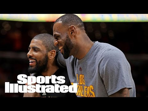 LeBron James Denies Rumor That He Wants Kyrie Irving To Be Traded | SI Wire | Sports Illustrated