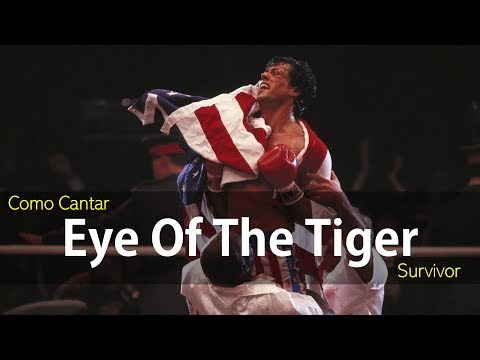 Como Cantar Eye Of The Tiger | Survivor | Helder Cortez