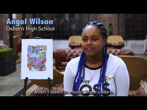 """81st annual """"Detroit Public Schools Community District Student Exhibition"""""""